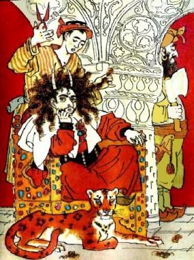 Рогатий Іскандар (таджицька казка)