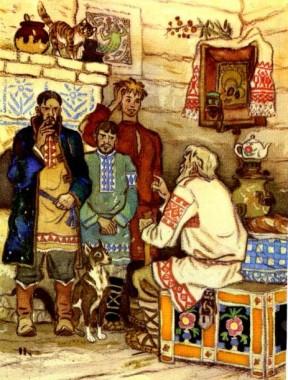 Розквитався (українська народна казка)