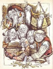 Семеро господарів дому (норвезька казка)