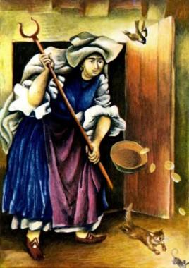 Сильний горобець (болгарська казка)
