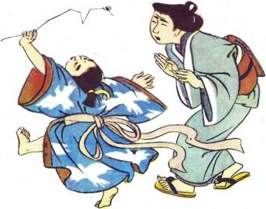 Соломинка (японська казка)