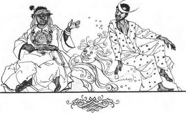 Сонце і місяць (африканська казка)
