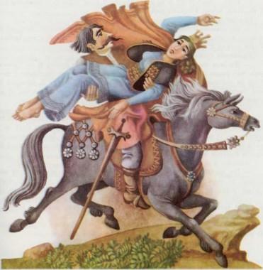 Сім зірок Волосожару (сербська казка)