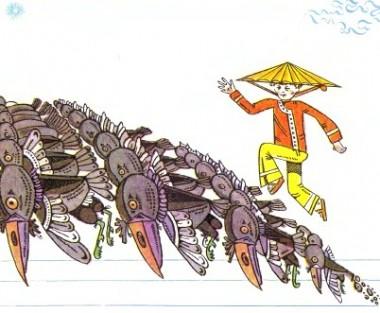 Ткаля і Волопас (в'єтнамська казка)
