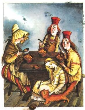 Три сестри (фінська казка)
