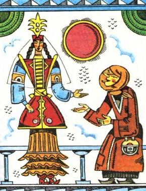 Три сини бідняка (казахська казка)