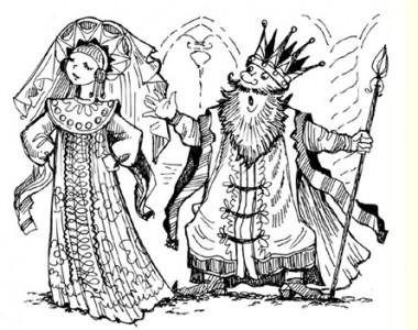 Три царства – мідне, срібне і золоте (російська казка)