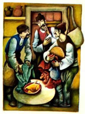 Хитрий Петр і брехуни (болгарська казка)