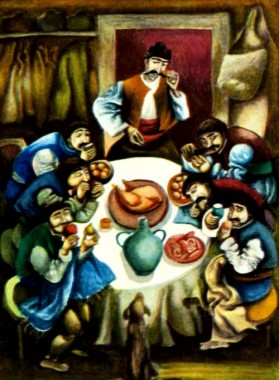 Хитрий Петр і скнари (болгарська казка)