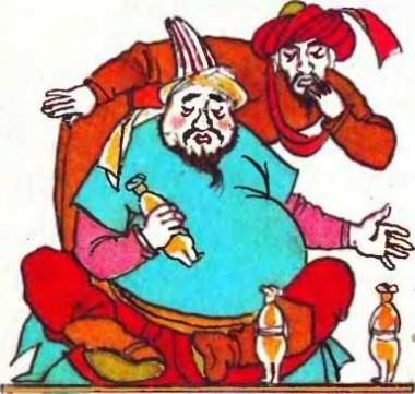 Хлопчик та золоті ляльки (киргизька казка)