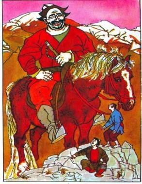Хто дужчий (киргизька казка)