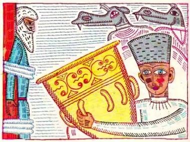 Царенко та змій (грузинська казка)