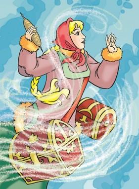 Чаклунка з підводного царства (карельська казка)