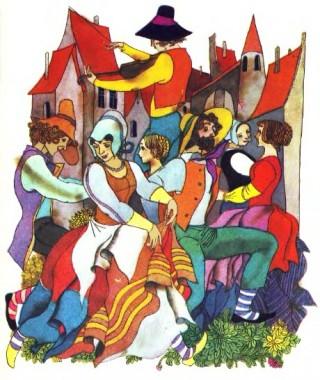 Чарівна скрипка (французька казка)