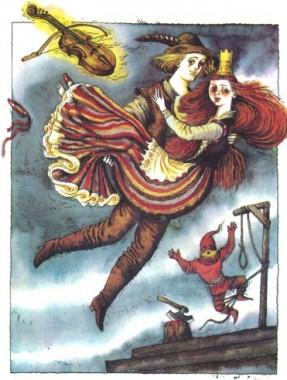 Чарівна скрипка (фінська казка)