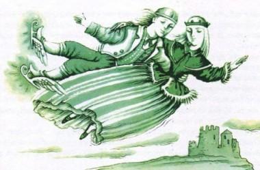 Чарівні ковзани (фінська казка)