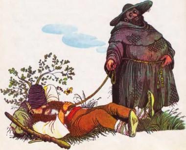 Ченці - шахраї (угорська казка)
