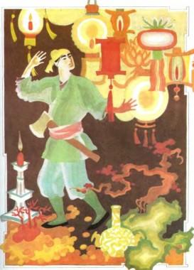 Червоний ліхтарик (китайська казка)