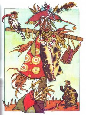 Черепаха і павук (африканська казка)