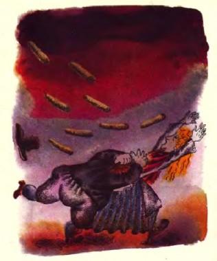 Чоловік і вітер (естонська казка)