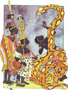 Чому в бабок тоненький стан (африканська казка)