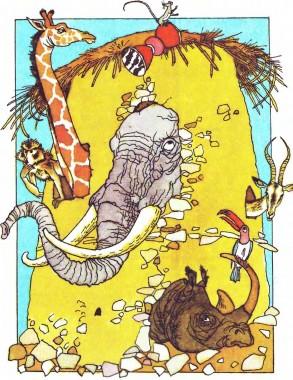 Чому кіт і миша ворогами стали (африканська казка)