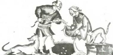 Чому кіт і собака ворогами стали (китайська казка)