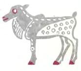 Чому олень уникає ведмежого сліду (ескімоська казка)