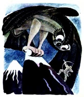 Чорний птах (чукотська казка)