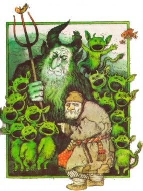 Чорт-злодій (білоруська казка)