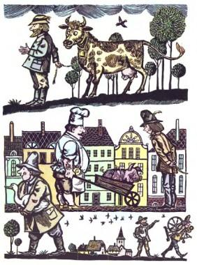 Щасливий Ганс (німецька казка)