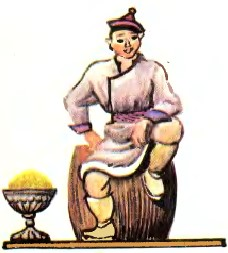 Як Тархас хана провчив (бурятська казка)