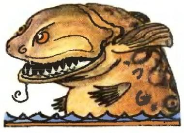 Як барс рибку ловив (бурятська казка)