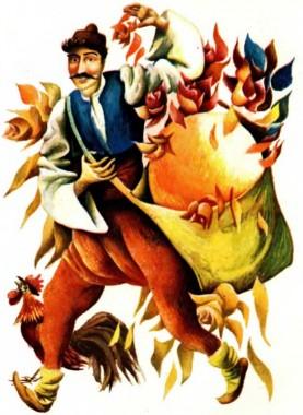 Як бідний чоловік з лихварем судився (болгарська казка)