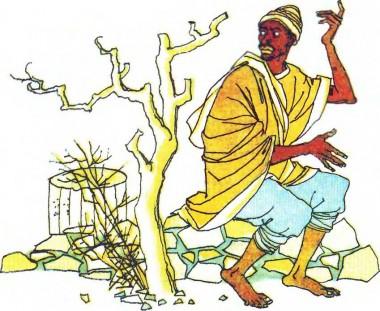 Як гукнеш, так і відгукнеться (африканська казка)