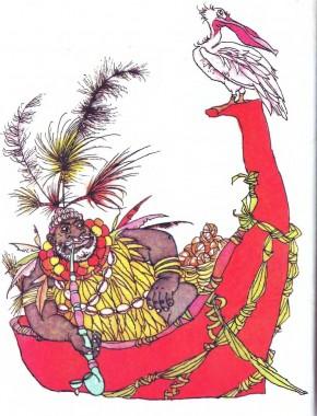 Як з'явилися на землі перші люди (африканська казка)