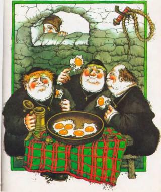 Як ксьондзів лікували (білоруська казка)