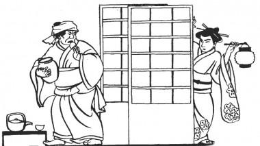 Як невістка провчила скупу свекруху (японська казка)