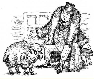 Як пан вівцю купив (російська казка)
