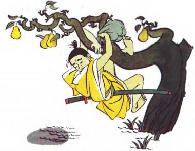Як сини ходили по груші (японська казка)