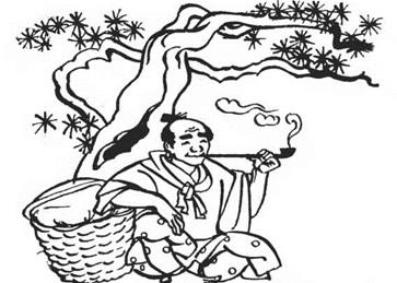 Як сосна кашляла (японська казка)