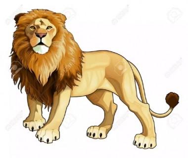 Як чоловік і кінь перехитрили лева (українська народна казка)