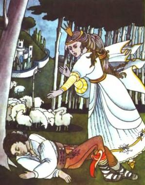 Янічек і запашний віночок (чеська казка)