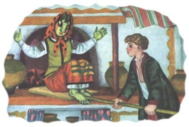 Telesik-Little Stick (ukrainian folk tale)