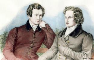 Братья Гримм - Якоб и Вильгельм