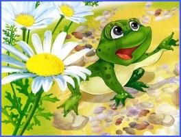Бузько і жаби (українська народна казка)