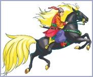 Чарівний кінь (українська народна казка)