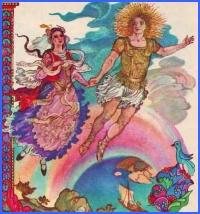 Дівчина виходить заміж за Сонце (грецька казка)