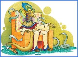 Допомога зміїного царя (індіанська казка)