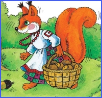 How a Squirrel helped a Bear (ukrainian folk tale)